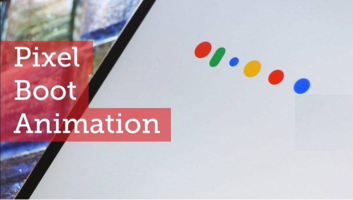 Install Google Pixel 2 Boot animation
