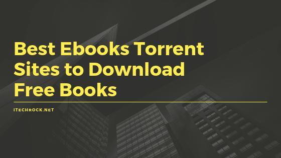 best ebooks torrent sites