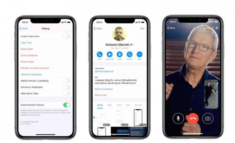 В Telegram для iOS додали підтримку відеодзвінків – Програми | iTechua