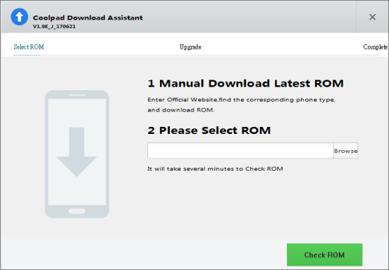 how to install nougat firmware on coolpad cool 1