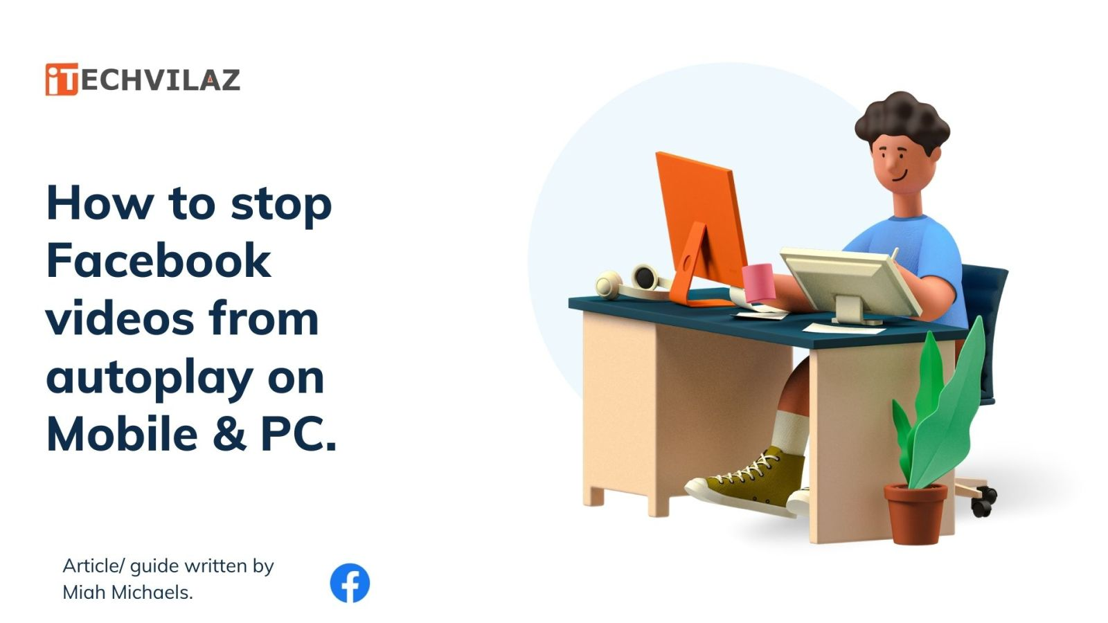 how to stop Facebook videos from autoplay