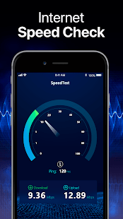 Speed Test App android, ios