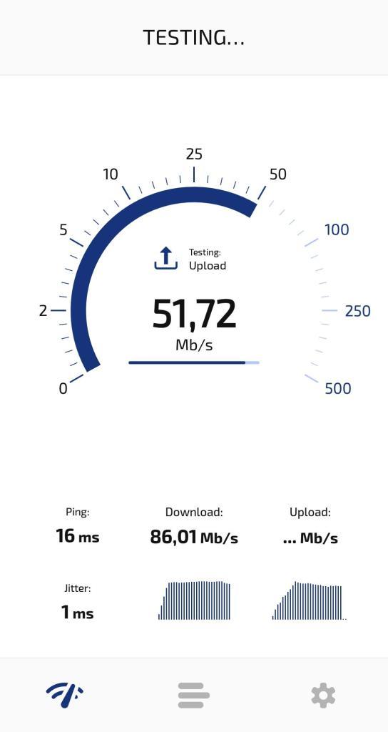 Check Internet Speed Test App