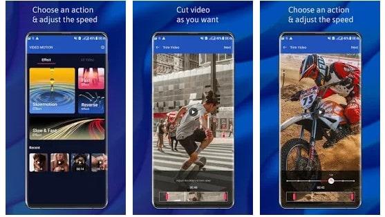 slow motion selfie app