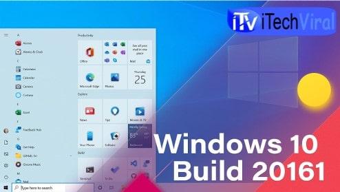 New Start Menu of Windows 10