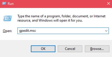 Run the Dialog box