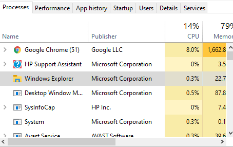 Missing Battery Icon on Windows 10