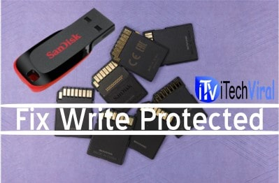 write protected sd card