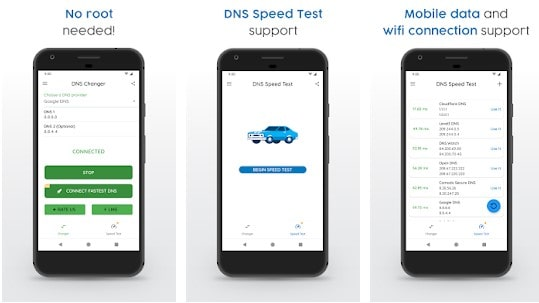 DNS Changer Apps Android