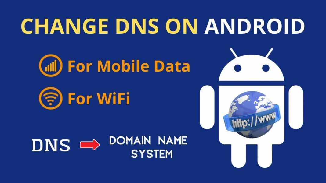 DNS Changer Apps For Android Mobile Network