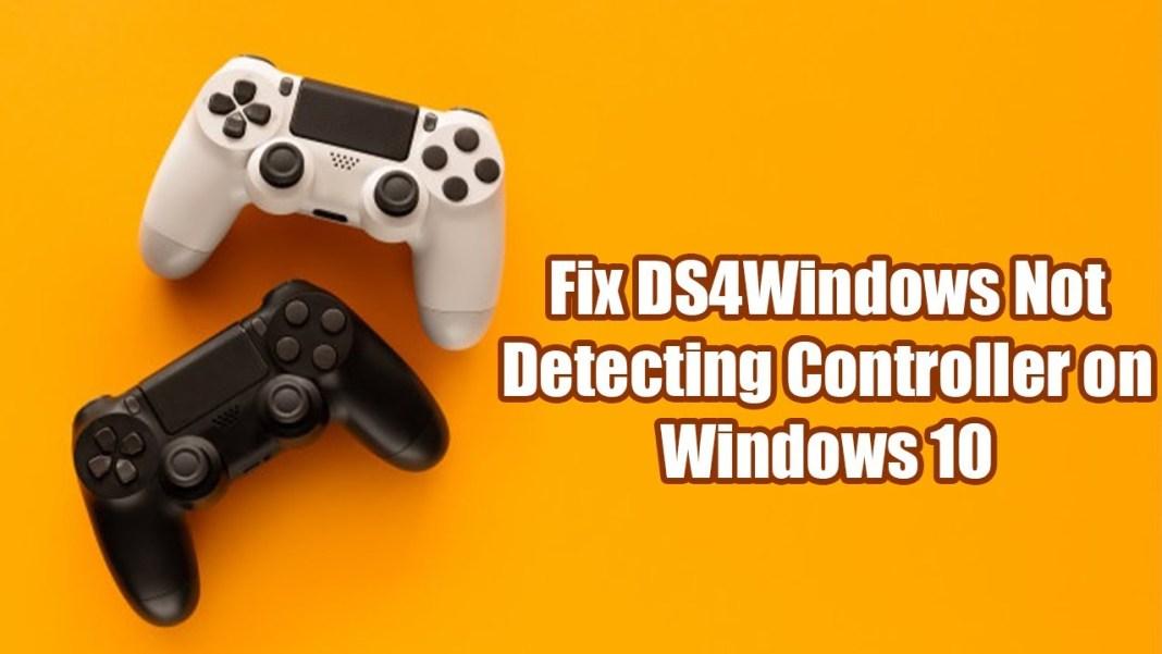 Fix DS4windows Not Working