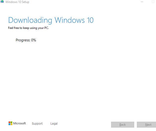 Install Windows 10 20H2