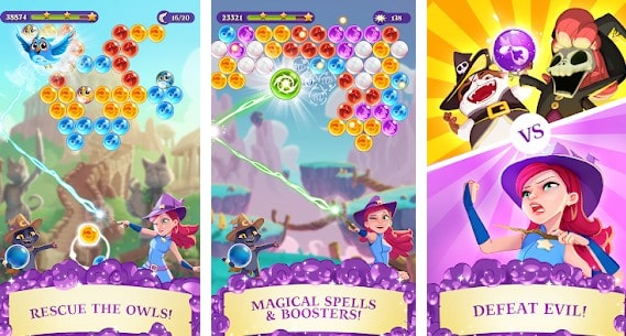 Free Bubble Shooter Games