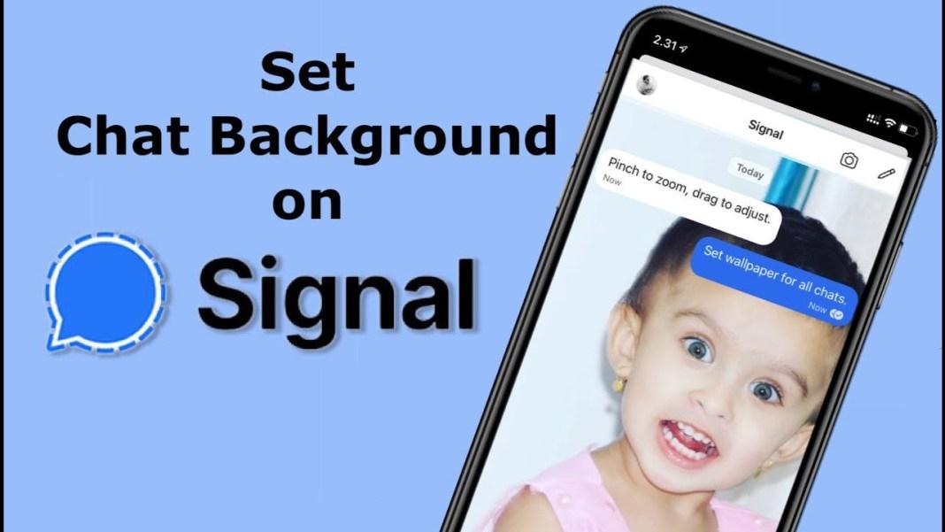 Signal Chat Wallpaper