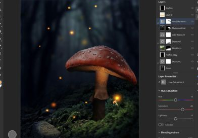 Editing with photoshop