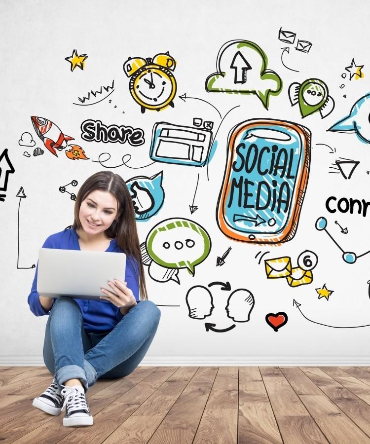 social media management icon 3