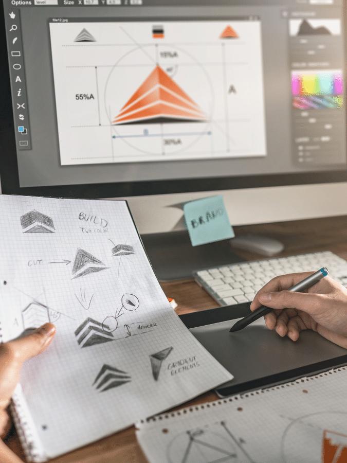 graphic design services image