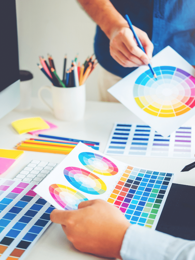 graphic design image colors
