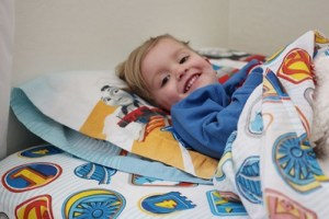 toddler comfortable bedding environment for sleep