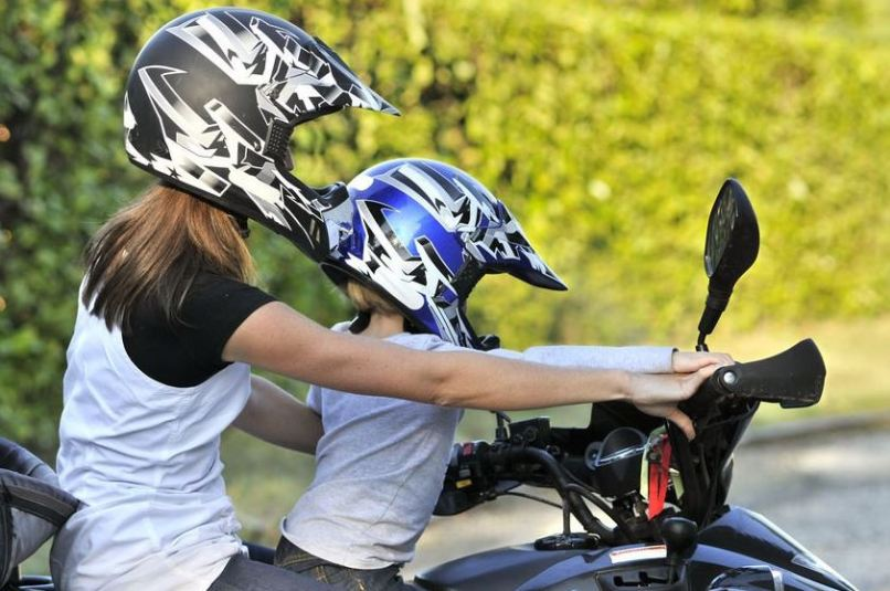 Legal Age For Child To Ride On Back Of