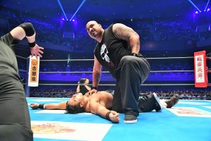 NJPW Interview with Bad Luck Fale