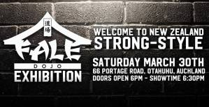 "<span id=""titleiswpReadMe_1829""></noscript>Fale Dojo Exhibition – Welcome to New Zealand Strong Style</span>"