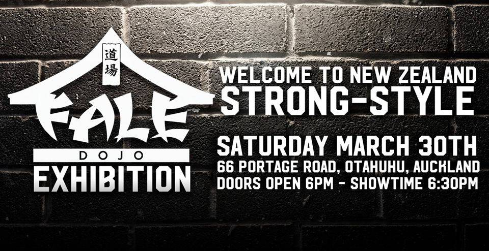 Fale Dojo Exhibition – Welcome to New Zealand Strong Style