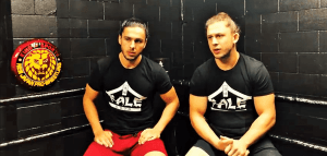 Fale Dojo Young Lions Tome and Stevie Filip join NJPW Dojo
