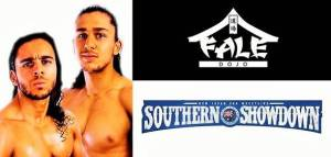 "<span id=""titleiswpReadMe_2311""></noscript>Tome and Stevie Filip – Fale Dojo at NJPW Southern Showdown</span>"