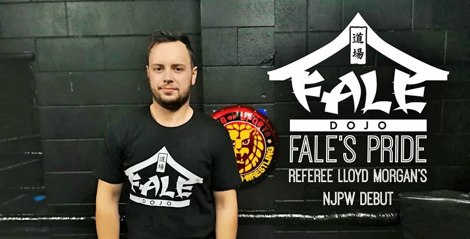 Fale's Pride – Referee Lloyd Morgan's NJPW Debut