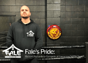 Fale's Pride – Michael Richards to Compete at Upcoming NJPW Tour