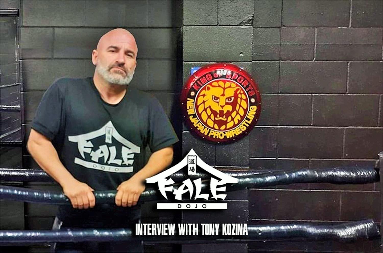 Fale Dojo interview with Tony Kozina