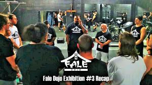 Fale Dojo Exhibition #3 Recap