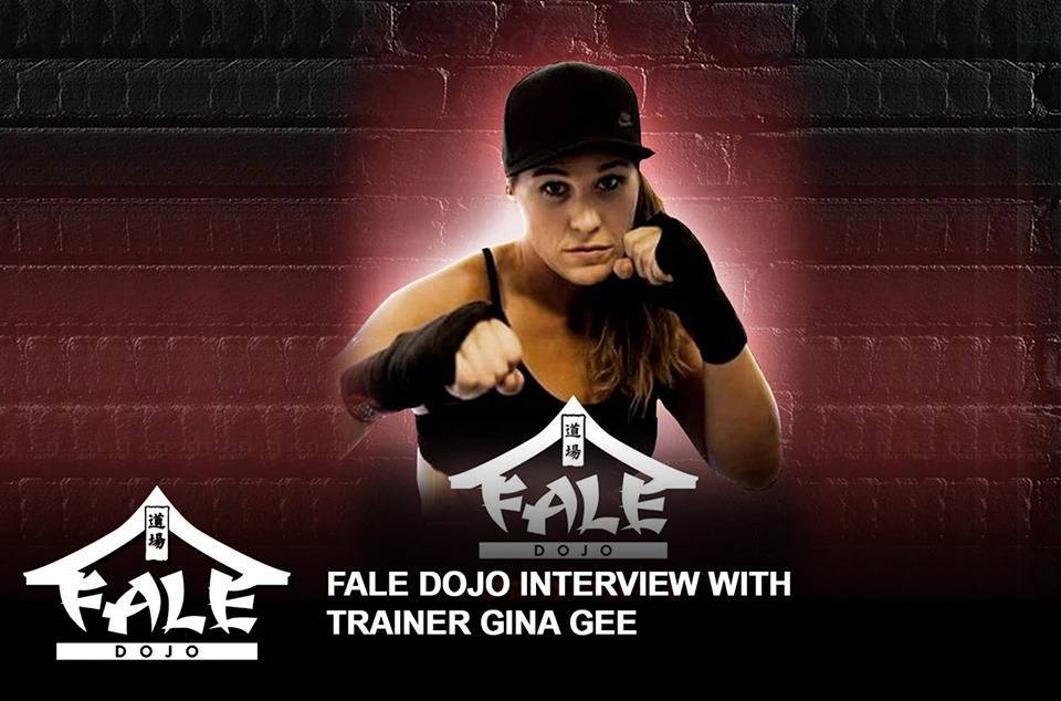 Fale Dojo interview with Trainer, Gina Gee