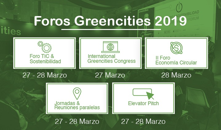 foros greencities 2019
