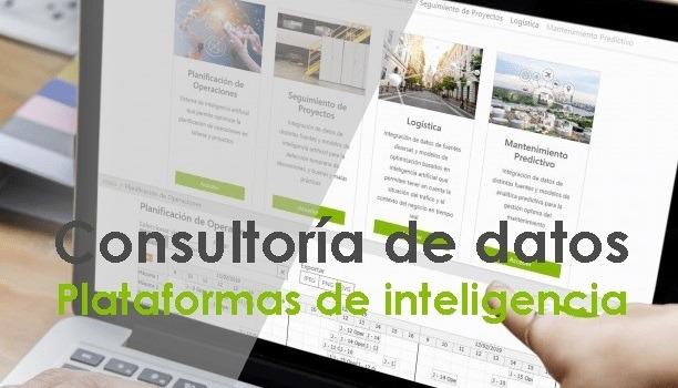Consultoria de datos y plataforma de inteligencia