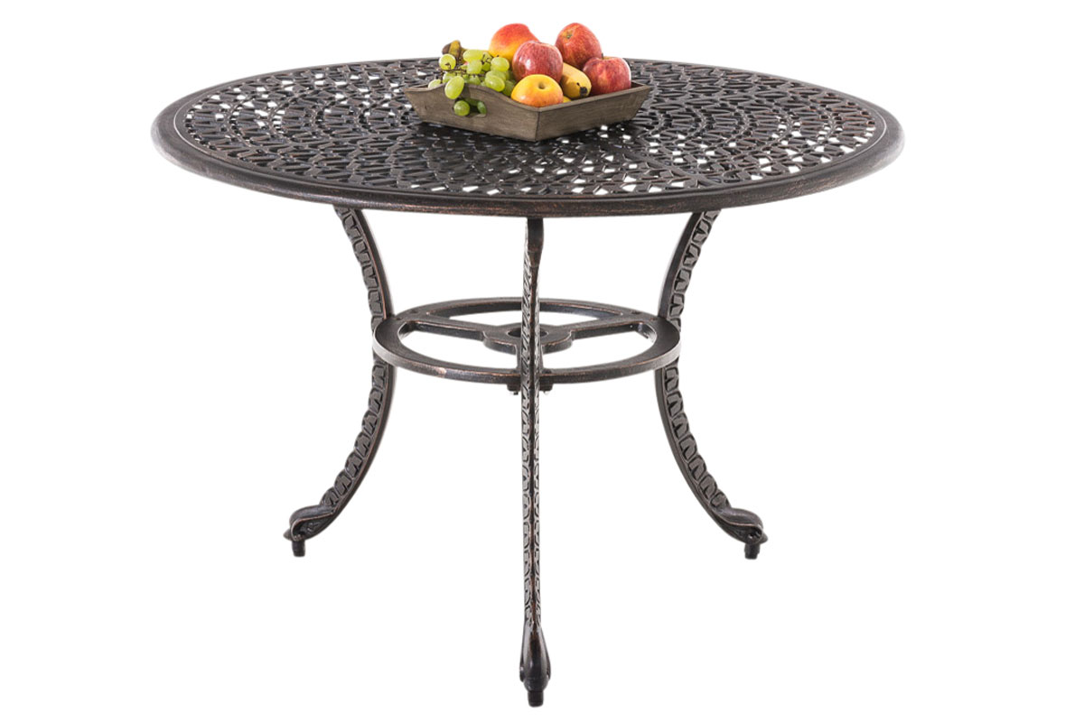 Table De Jardin Fonte Aluminium | Table De Jardin Moderne ...