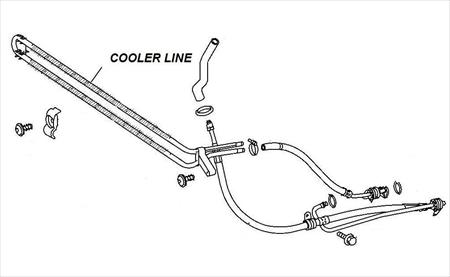 LINE. Oil Cooler. 2007 TO 2009 DODGE SPRINTER P/N