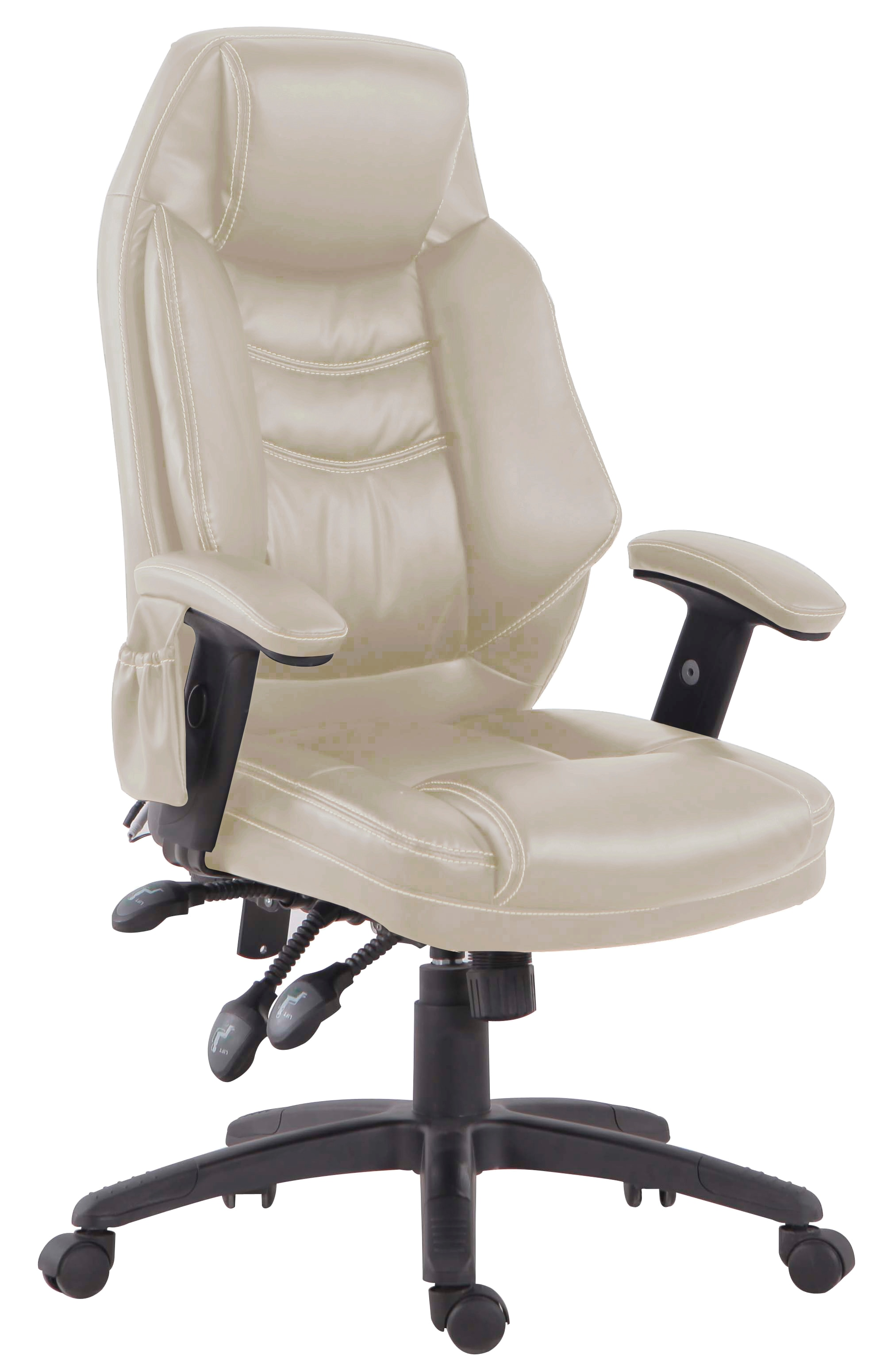 Ergonomic Chair Tony Little Destress Ergonomic Office Chair With Massage And Heat