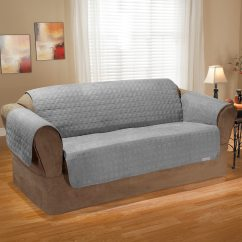 Quilted Microsuede Sofa Cover Non Toxic Bed Uk Online Shopping For Canadians