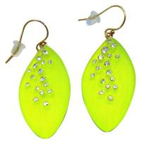 Alexis Bittar Yellow Neon Earrings