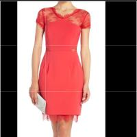 BCBGMAXAZRIA Red Short Cocktail Dress Size 0 (XS) - Tradesy