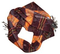 Geoffrey Beene GEOFFREY BEENE Authentic Plaid Soft Scarf ...