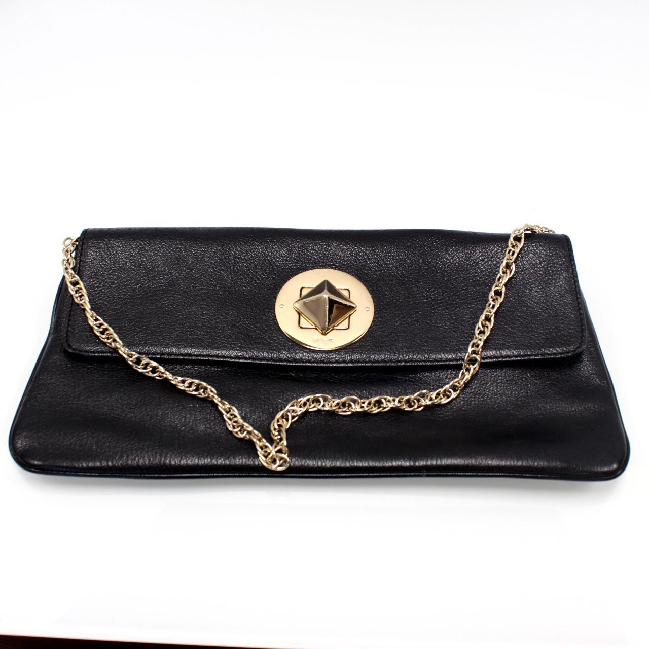 Kate Spade Gold Leather Purse