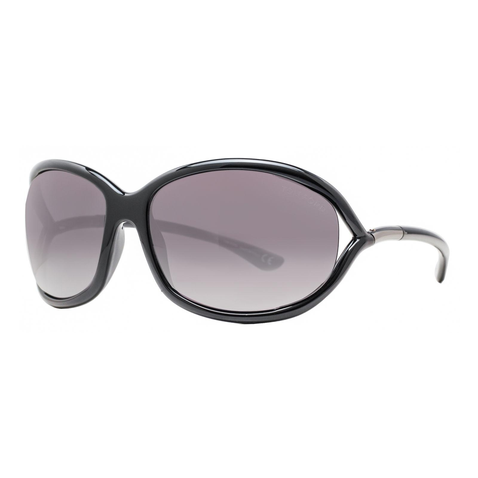 Tom Ford Jennifer Tf008 01b Black Gray Gradient Soft