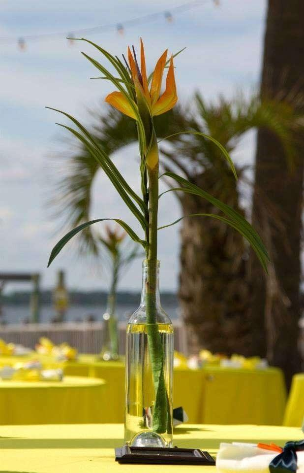 13 Bird Of Paradise Centerpieces Tradesy Weddings