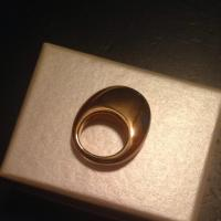 Alexis Bittar REDUCED PRICE!!! Pointy Dome Shaped Gold Ring