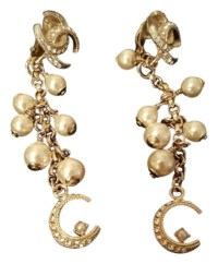 Chanel Famous Dubai Collection! Pearl Crystal Earrings ...