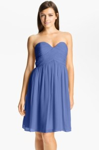 Donna Morgan Blue Aster Bridesmaid Dress on Sale, 77% Off
