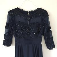 JJ's House Navy Princess Chiffon Dress Dress on Sale, 77% ...